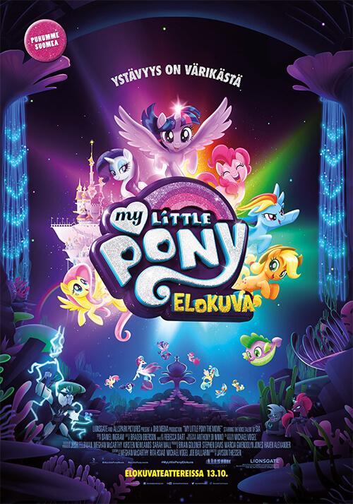 Kuvahaun tulos haulle my little pony elokuva juliste