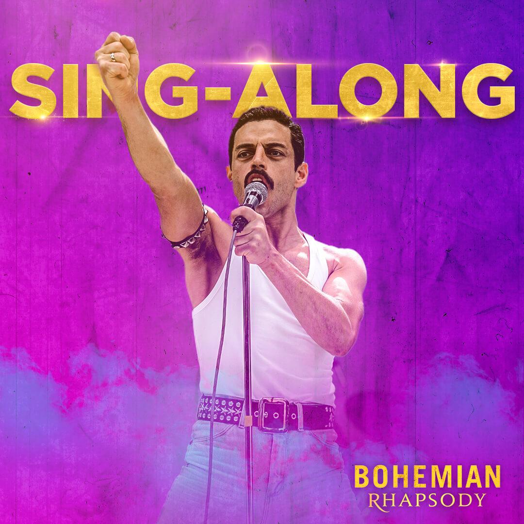 Nyt saa laulaa! Bohemian Rhapsody -elokuvan sing-along -versio tulee 22.2. elokuvateattereihin.