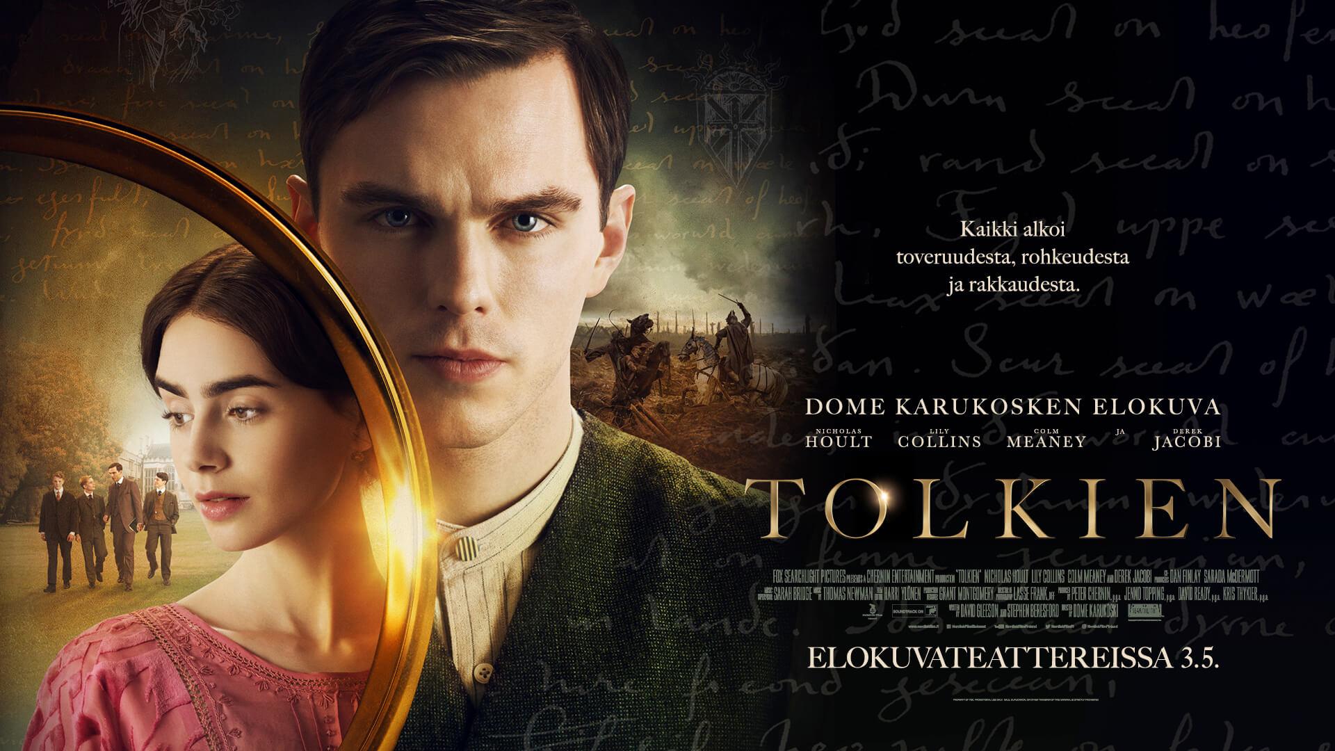 Dome Karukosken TOLKIEN-elokuvan liput nyt myynnissä
