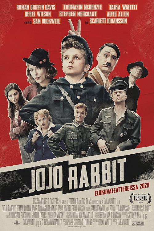 Sam Rockwell Jojo Rabbit >> Jojo Rabbit Nordisk Film Finland