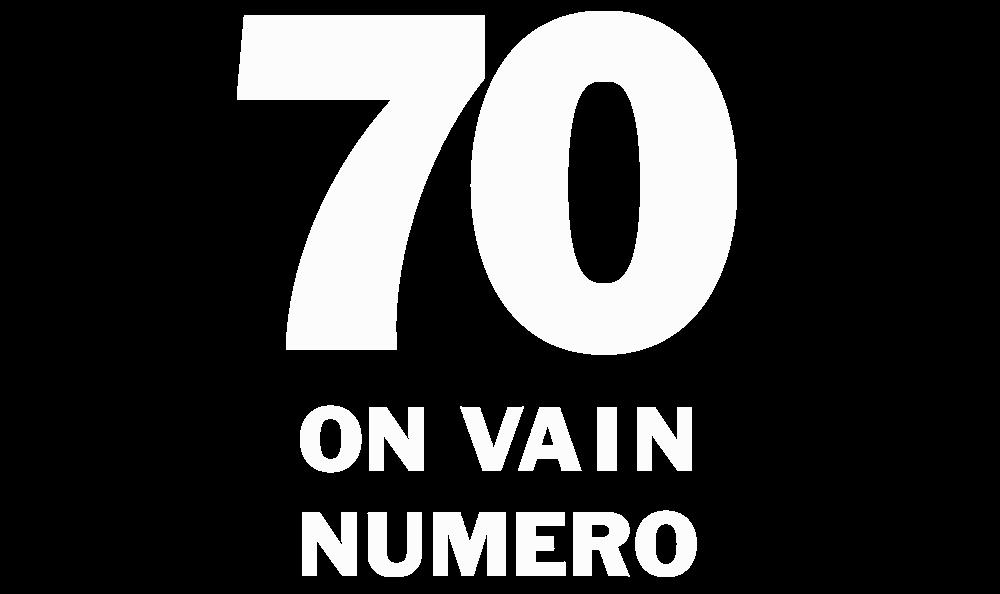 70 on vain numero